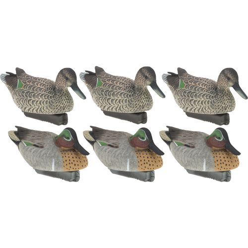 Final Approach Gunner HD Floating Green-Winged Teal Duck Decoys 6-Pack - view number 1