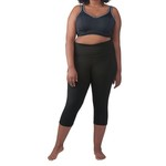 BCG Women's Tummy Control Plus Size Capri Pant - view number 6