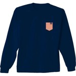 New World Graphics Women's Auburn University Faux Pocket Long Sleeve T-shirt - view number 2