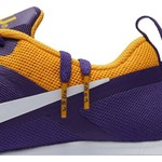 Nike Women's Louisiana State University Zoom Fitness Training Shoes - view number 8