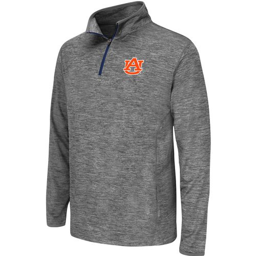 Colosseum Athletics Youth Auburn University Action Pass 1/4 Zip Wind Shirt