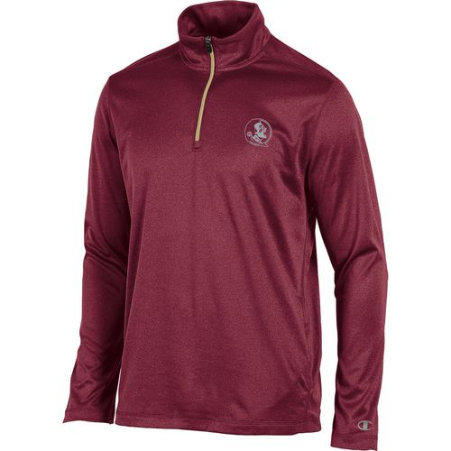 Champion Men's Florida State University Victory 1/4 Zip Long Sleeve Pullover