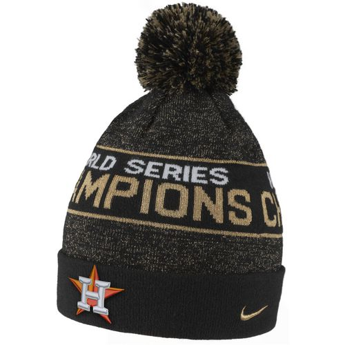 Nike Men's Astros 2017 World Series Celebration Beanie