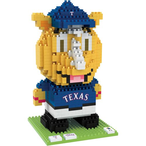Forever Collectibles Texas Rangers Captain BRXLZ 3-D Mascot Puzzle