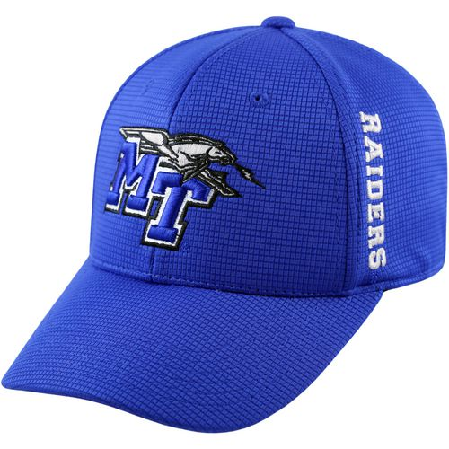 Top of the World Men's Middle Tennessee State University Booster Plus Cap