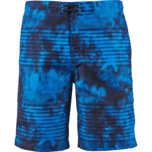 Speedo Men's Misty Blur Stripe E-Board Short