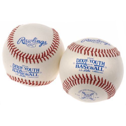 Rawlings Dixie Youth Baseballs 2-Pack