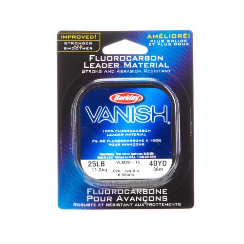 Display product reviews for Berkley® Vanish® 40-Yard Fluorocarbon Leader Material