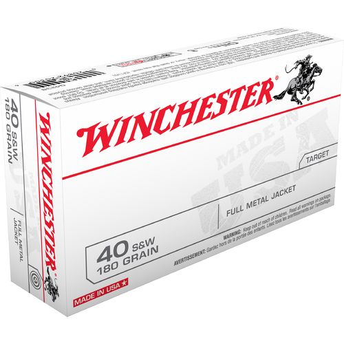 Winchester USA Full Metal Jacket .40 Smith &