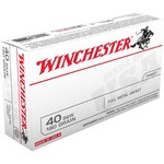 Winchester USA Full Metal Jacket .40 Smith & Wesson 180-Grain Handgun Ammunition