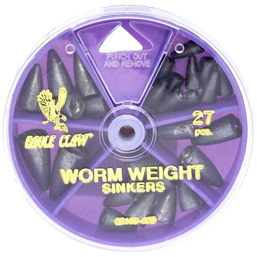Eagle Claw Assorted Weights 27-Pack
