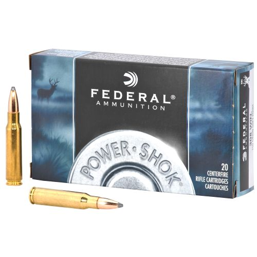 Federal Premium Ammunition Power-Shok .308 Winchester 150-Grain Centerfire Rifle Ammunition