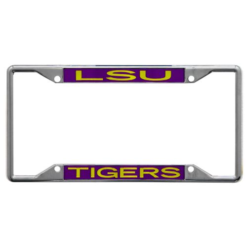 Stockdale Louisiana State University License Plate Frame - view number 1