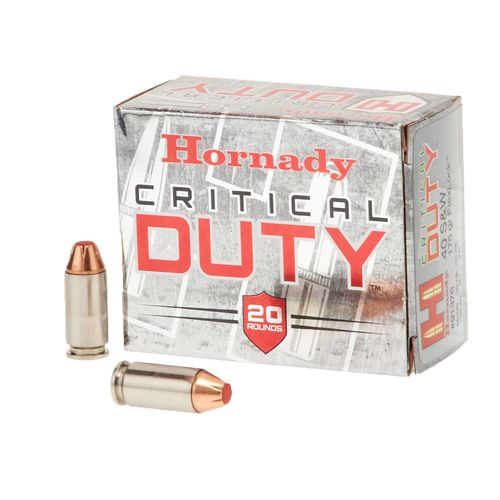 Hornady .40 S&W 175-Grain FlexLock™ Critical DUTY™ Handgun Ammunition