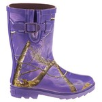 Realtree Girls' Ms Jojo Tall Rubber Rain Boots