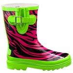 Stone Creek™ Girls' Zebra Rubber Boots
