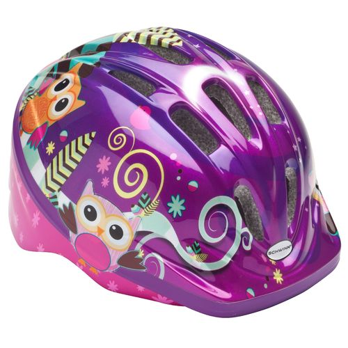 Schwinn  Toddlers  Owl Bicycle Helmet