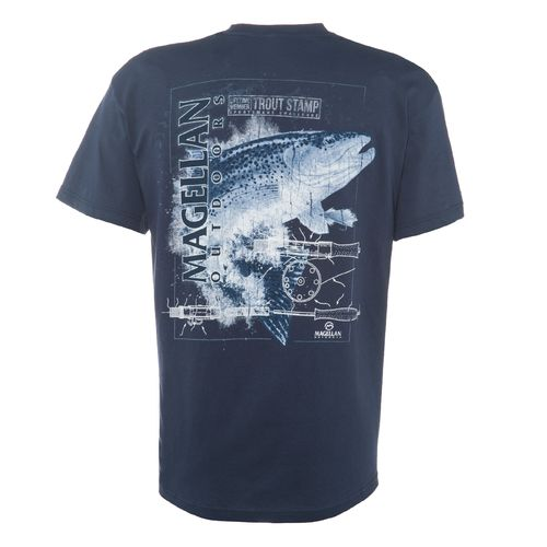 Magellan Outdoors™ Men's Trout Stamp Graphic Short Sleeve T-shirt