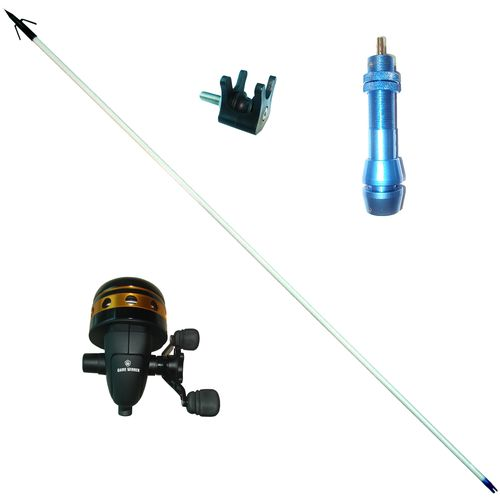 Deluxe bow fishing archery tournament bowfishing kit for Bow fishing reel