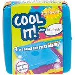 Fit & Fresh Cool Coolers Lunch Ice Packs 4-Pack