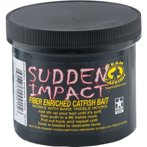 Display product reviews for Team Catfish Sudden Impact 12 oz. Stink Bait