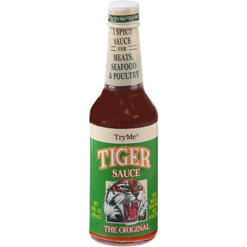 Display product reviews for Try Me Tiger Sauce