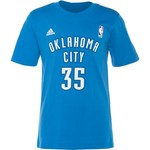 adidas™ Boys' Oklahoma City Thunder Kevin Durant #35 Flat Game Time T-shirt