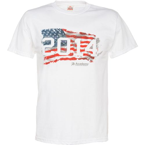 Academy Sports + Outdoors  Men s 2014 Flag T-shirt