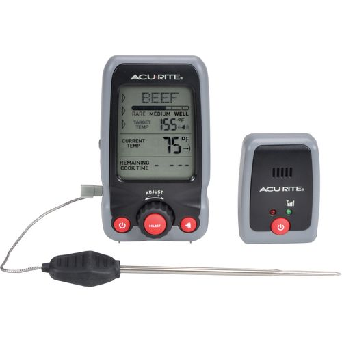 AcuRite Digital Cooking Thermometer with Probe and Pager