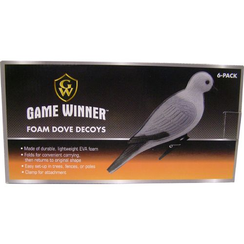 Game Winner® 3-D Foam Dove Decoys 6-Pack - view number 3