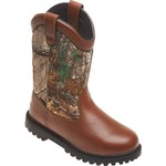 Brazos® Men's Ironmite Realtree Xtra® Steel Toe Wellingtons