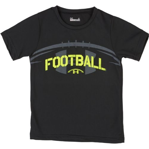 Under armour toddler boys 39 football t shirt academy for Boys soccer t shirts