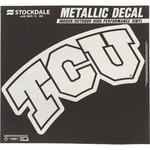 Stockdale Texas Christian University Metallic Decal