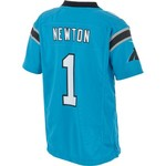 Nike™ Kids' Carolina Panthers Cam Newton Game Alt Jersey - view number 1