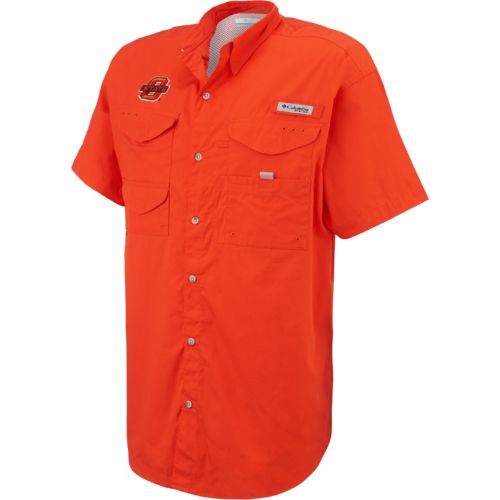 Columbia Sportswear™ Men's Oklahoma State University Collegiate Bonehead™ Shirt