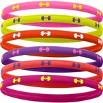 Under Armour® Girls' UA Mini Headbands 6-Pack