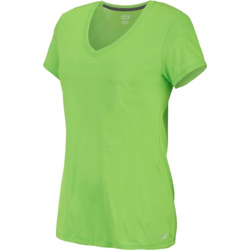 BCG Women's Technical Short Sleeve V-neck Top