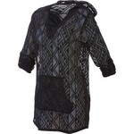 O'Rageous® Women's Crochet Hooded Cover-up Dress