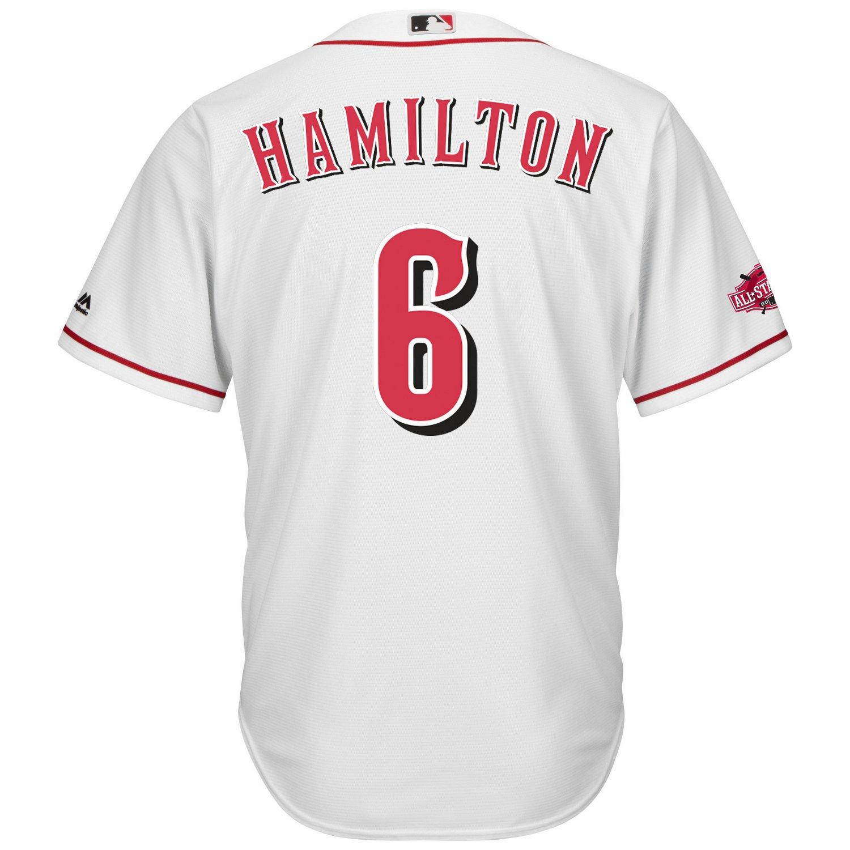 Majestic Men's Cincinnati Reds Billy Hamilton #6 Cool