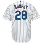 Majestic Men's New York Mets Daniel Murphy #28 Cool Base® Replica Jersey