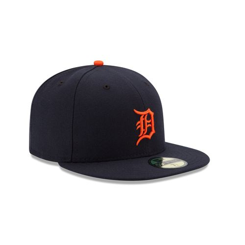 New Era Men's Detroit Tigers 59FIFTY Road Cap - view number 3