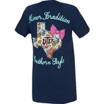 New World Graphics Women's University of Texas at El Paso Bright Bow T-shirt - view number 2