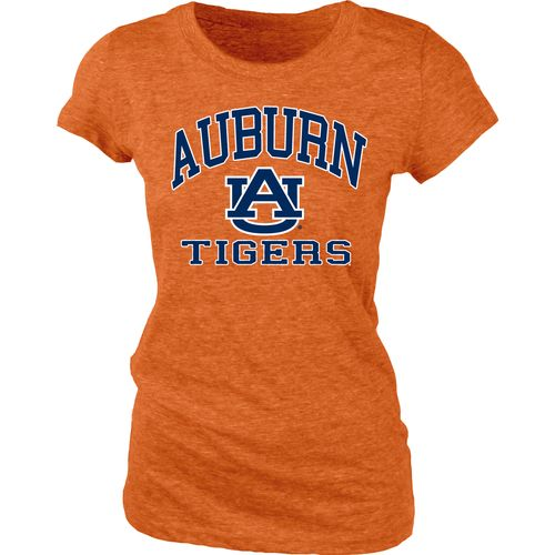 Blue 84 Juniors' Auburn University Triblend T-shirt - view number 1