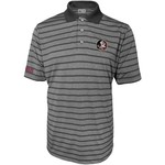 Majestic Men's Florida State University Section 101 Heather Stripe Golf Polo Shirt