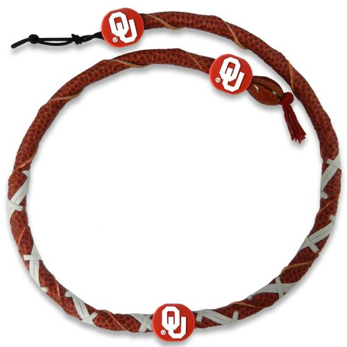 GameWear University of Oklahoma Classic Spiral Football Necklace