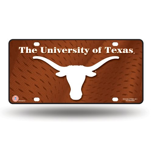 Rico University of Texas Metal Auto Tag - view number 1
