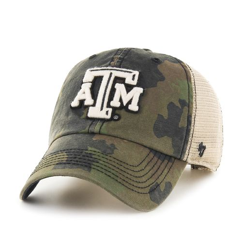 '47 Adults' Texas A&M University Burnett '47 Clean Up Camo Cap