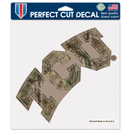 WinCraft Texas Christian University Camo Perfect Cut Color Decal