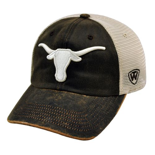 Top of the World Adults' University of Texas ScatMesh Cap