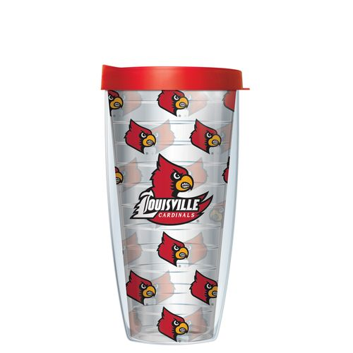 Signature Tumblers University of Louisville 22 oz. Repeated Pattern Traveler Insulated Tumbler
